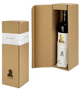 Darčeková kartónová kazeta na 1 fľašu