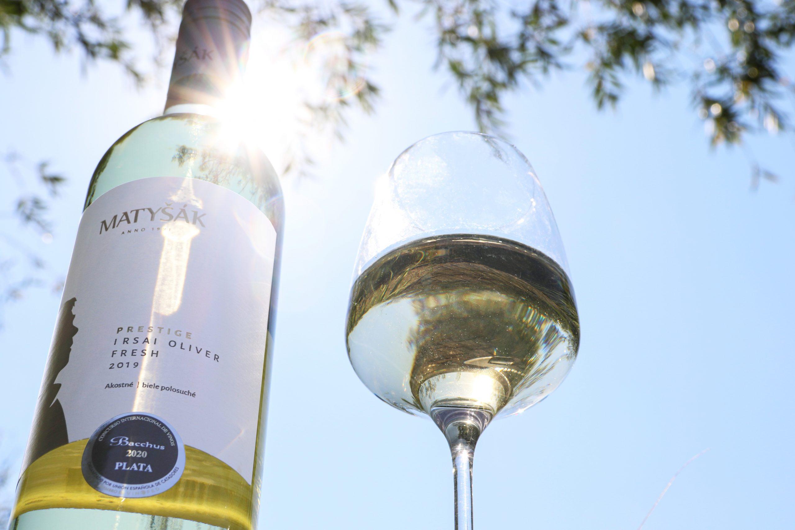 Svieže vínko z línie Prestige Fresh 2019